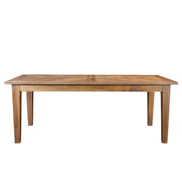 Antonucci Solid Wood Dining Table by Foundry Select