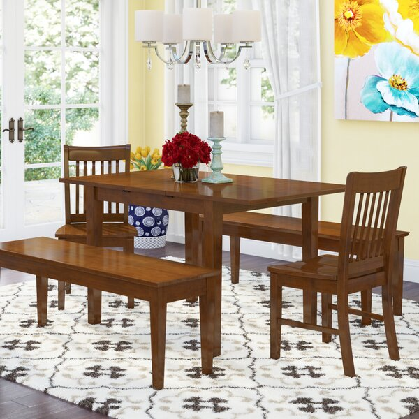 Balfor 5 Piece Extendable Dining Set By Andover Mills 2019 Sale