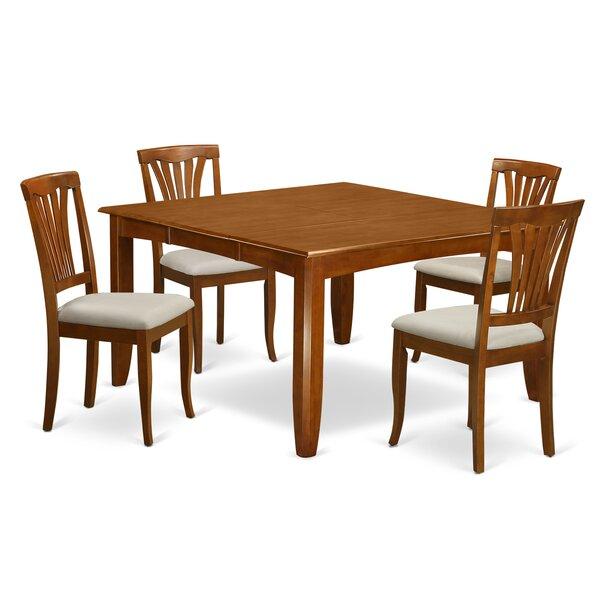 Teressa 5 Piece Extendable Dining Set by Alcott Hill Alcott Hill