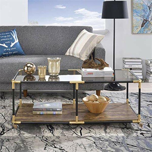 Maconay Metal Frame Coffee Table By Wrought Studio