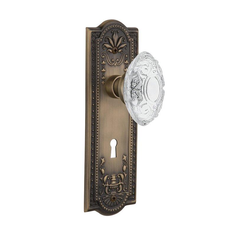 Nostalgic Warehouse Brass Door Knob Interior Passage Sets  2 available