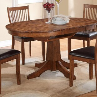 Oval Kitchen Dining Tables Youll Love Wayfair - Oblong dining table with leaf