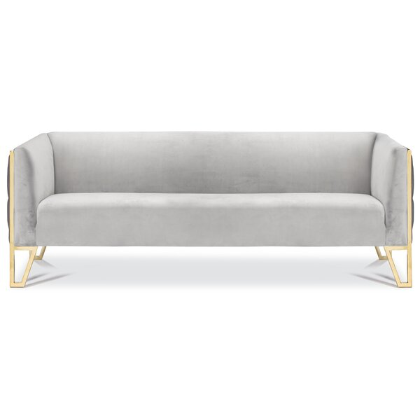 Cotten Tufted Chesterfield Sofa By Orren Ellis New