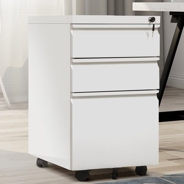 Rookwood 3-Drawer Mobile Lateral Filing Cabinet