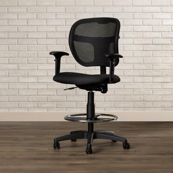 Terrance Mesh Drafting Chair by Brayden Studio