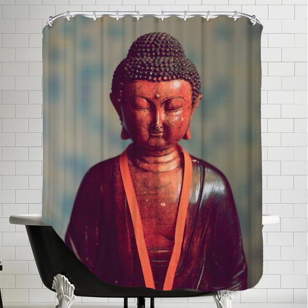 Yoga Zen Religion Shower Curtain by East Urban Home