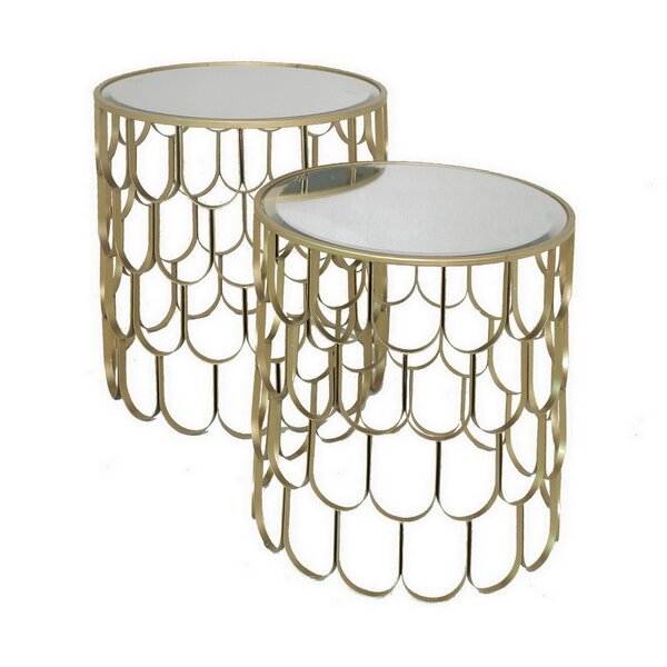 2 Piece Nesting Tables by Three Hands Co.