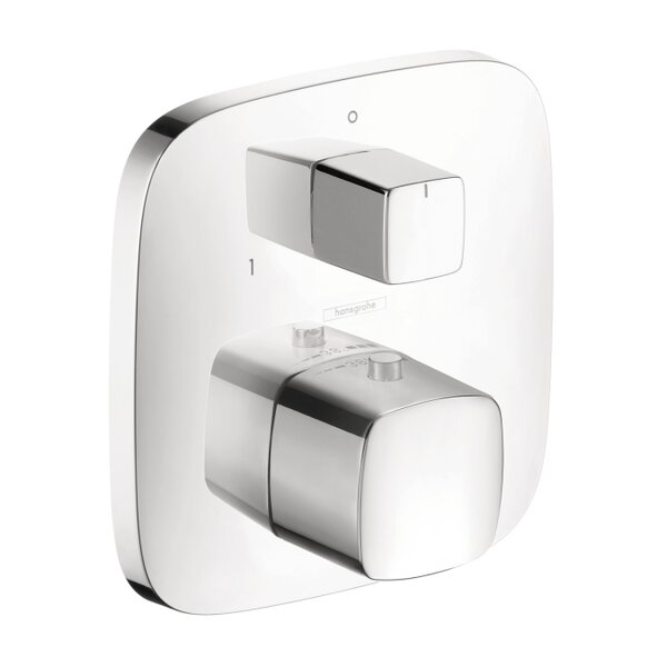 PuraVida Thermostatic Volume Control and Diverter Faucet Trim by Hansgrohe
