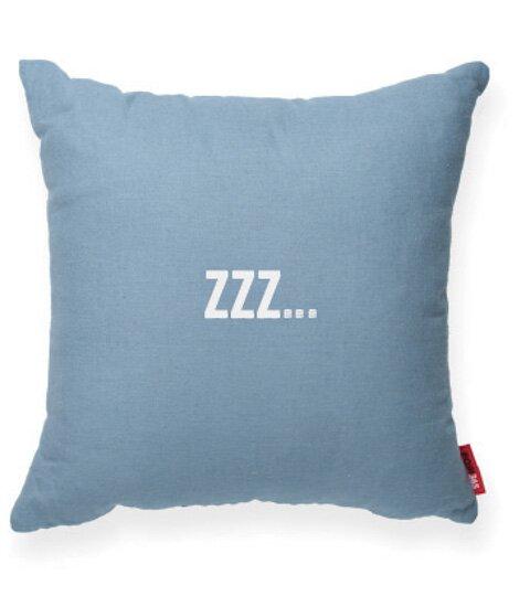 Expressive Zzz... Decorative Throw Pillow by Posh365