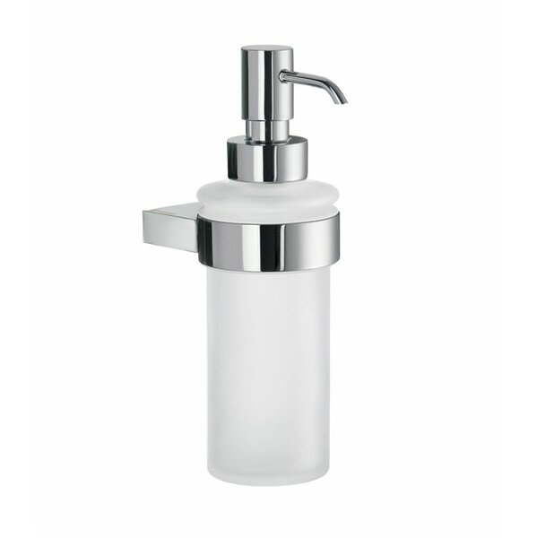 Air Frosted Glass Soap Dispenser by Smedbo