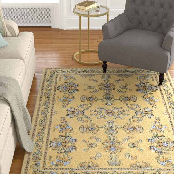 Bartlet Ivory Area Rug by Charlton Home