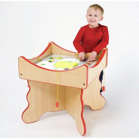 Veggie Kids Face Activity Table by Playscapes
