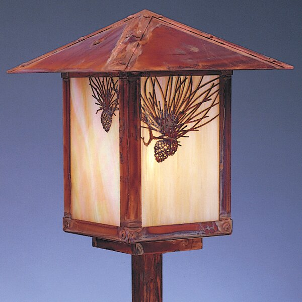 Evergreen Outdoor 1-Light Lantern Head by Arroyo Craftsman