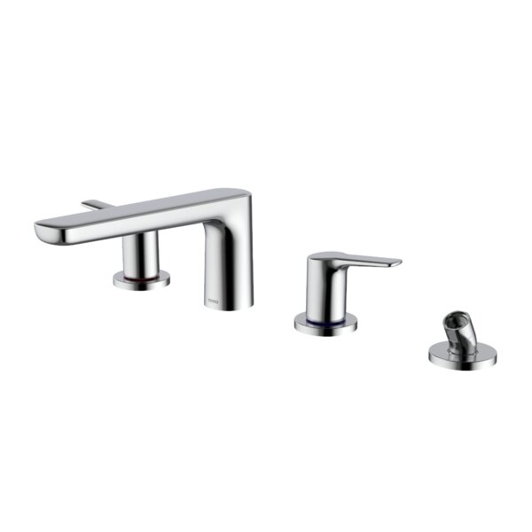 Double Handle Deck Mounted Roman Tub Faucet Trim with Diverter by Toto Toto