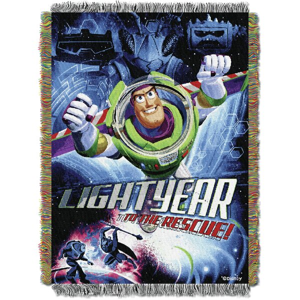 Toy Story Buzz Victorious Throw by Northwest Co.