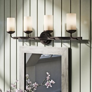 Find Mills 4-Light Autumn Bronze Vanity Light By Laurel Foundry Modern Farmhouse