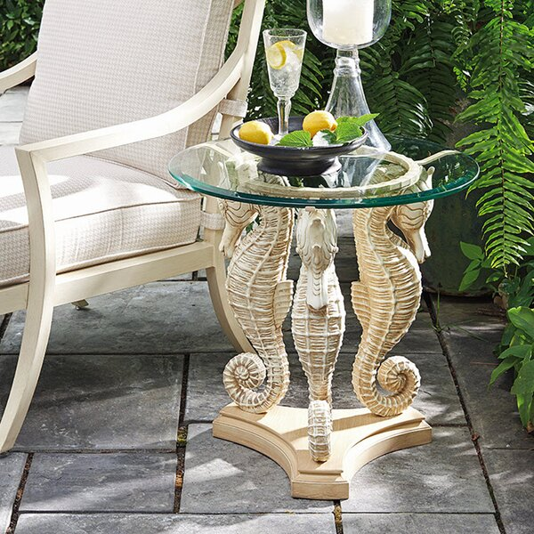 Alfresco Living Sea Horse Side Table by Tommy Bahama Outdoor