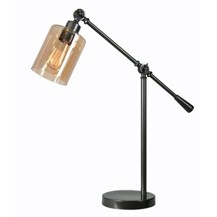 Bronze Swing Arm Table Lamps You Ll Love Wayfair