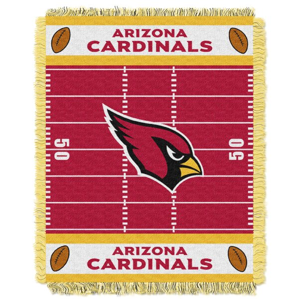 NFL Cardinals Field Baby Blanket by Northwest Co.