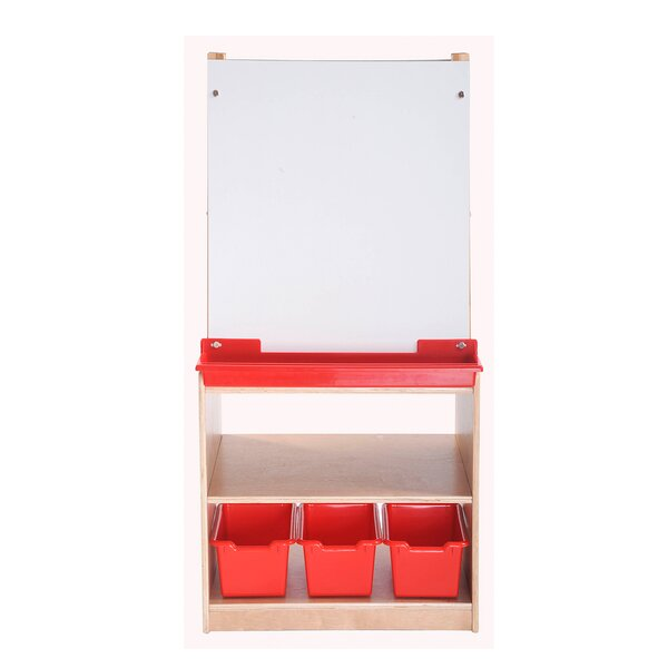 2 Station Art Board Easel by Offex