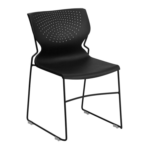 Ash Stacking Chair by Latitude Run