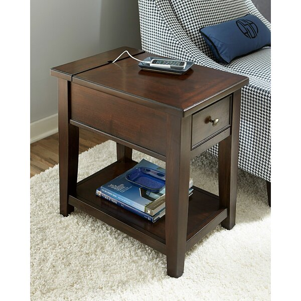 Mccann Chairside End Table With Storage By Darby Home Co