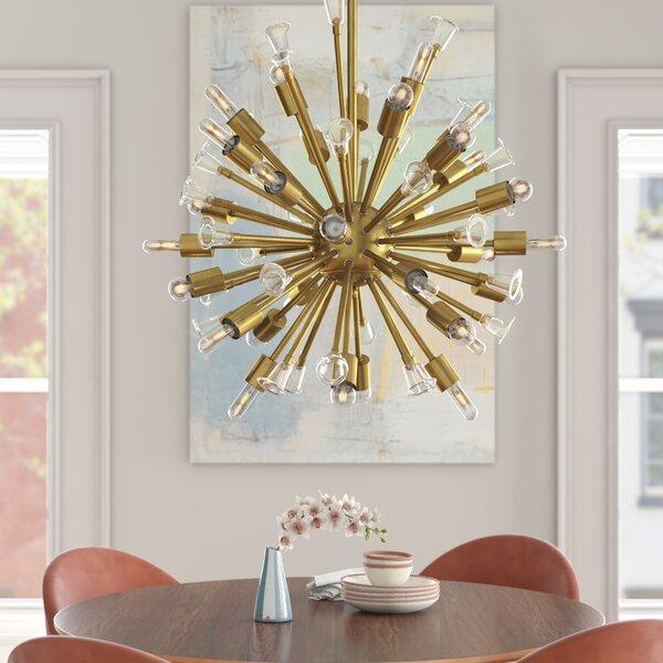 Archie 30 - Light Sputnik Sphere Chandelier by Foundstone Foundstone