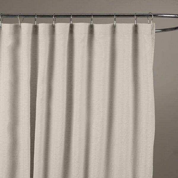 Bernadette Linen Shower Curtain by Birch Lane™