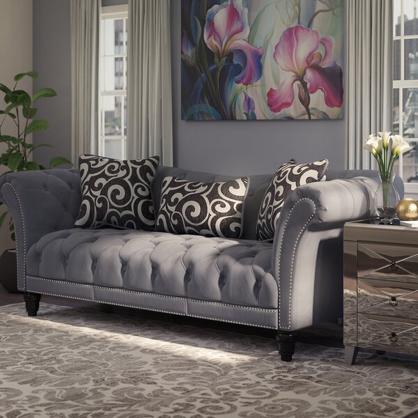 Hendrix Chesterfield Sofa by Willa Arlo Interiors