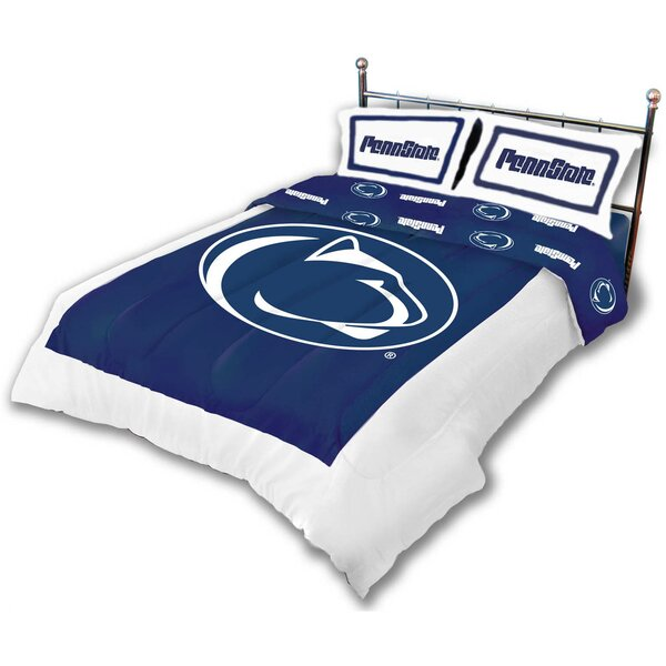 NCAA Reversible Comforter Set by College Covers
