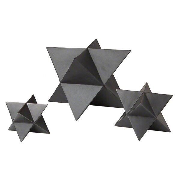 Star Object Set in Black by DwellStudio