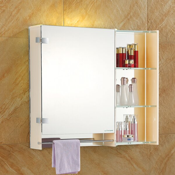 27 W x 31 H Wall Mounted Cabinet by Fab Glass and Mirror