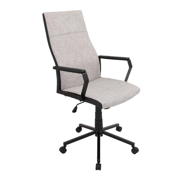 Palaestra Prism Desk Chair by Mercury Row