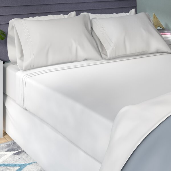 Patric 800 Thread Count Egyptian-Quality Cotton Sheet Set by The Twillery Co.
