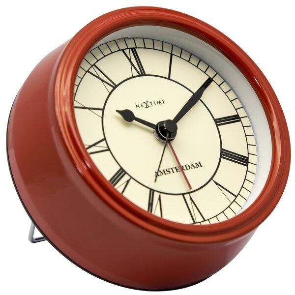 Alayna 4.75 Amsterdam Tabletop Clock by Charlton Home