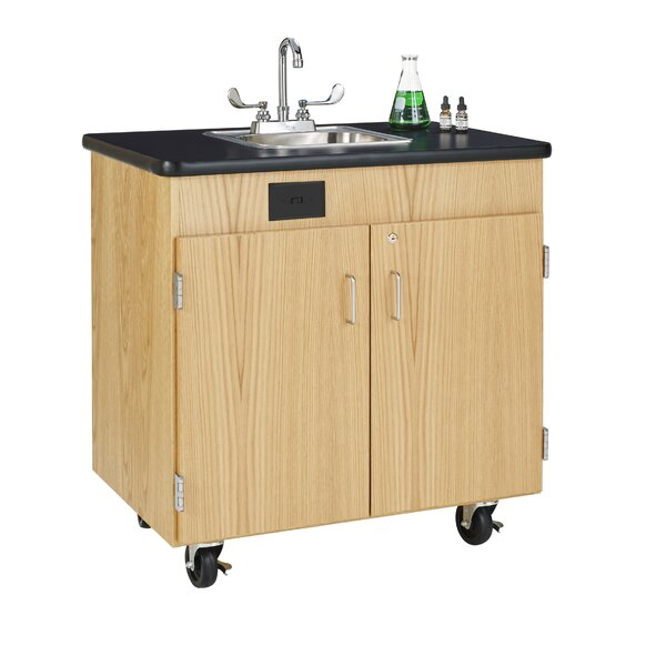 Hot Water Mobile Station by Diversified Woodcrafts
