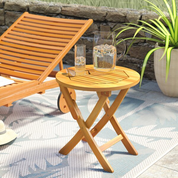 Bristol Solid Wood Side Table by Beachcrest Home
