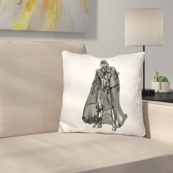 Vader Throw Pillow by East Urban Home