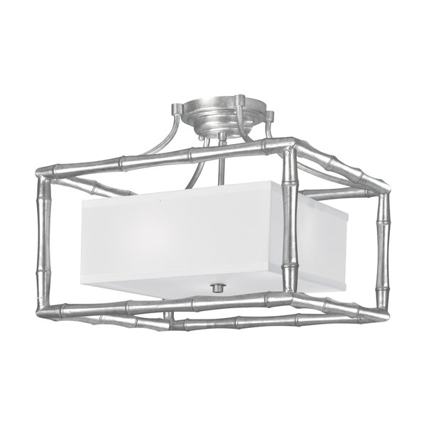 Welch 3-Light Semi Flush Mount by Bay Isle Home