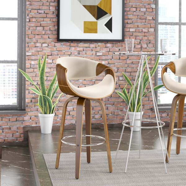 Auburn 30 Swivel Bar Stool by Langley Street