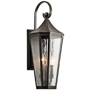 Price comparison Woodlawn 2-Light Outdoor Wall Lantern By Darby Home Co