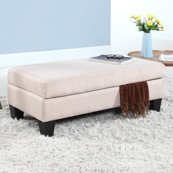 Classic Upholstered Storage Bench by Madison Home USA