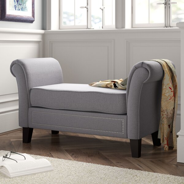 Mikala Upholstered Bench by Red Barrel Studio