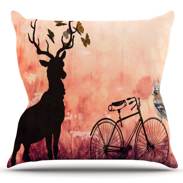 Vintage Forest by Suzanne Carter Outdoor Throw Pillow by East Urban Home