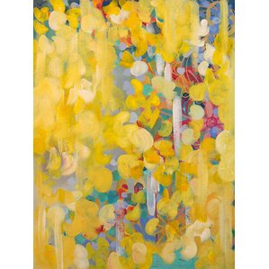 'Princess Buttercup' by Stephanie Corfee Painting Print on Wrapped Canvas