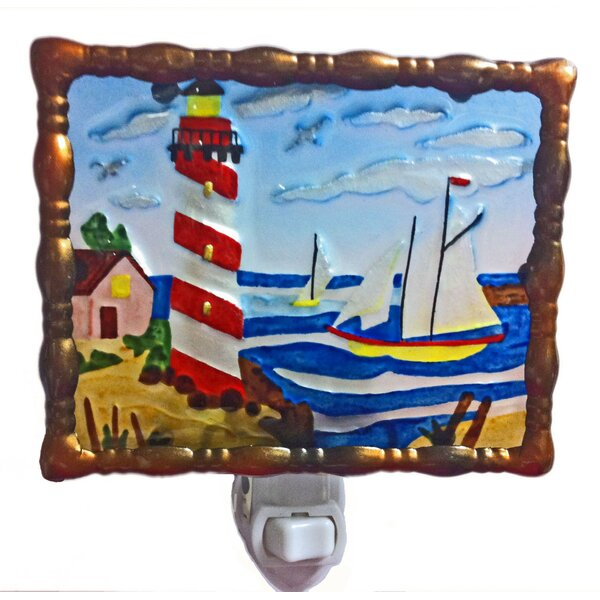 Light House Night Light by Continental Art Center