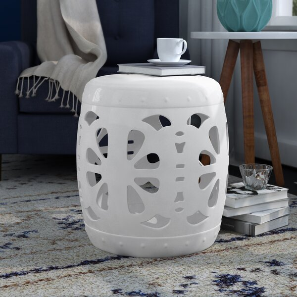 Ceramic Garden Stool by Brayden Studio