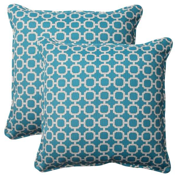 Shirah Corded Indoor/Outdoor Throw Pillow (Set of 2)