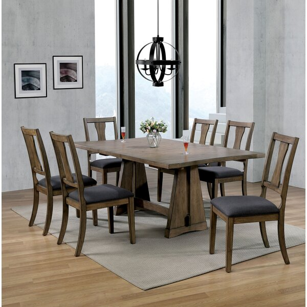 Serena Extendable 7 Piece Dining Set by Millwood Pines
