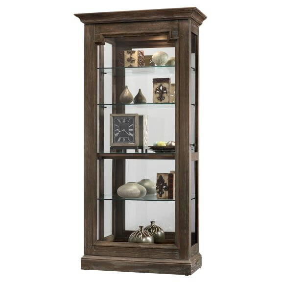 Broadwater Lighted Curio Cabinet by Darby Home Co